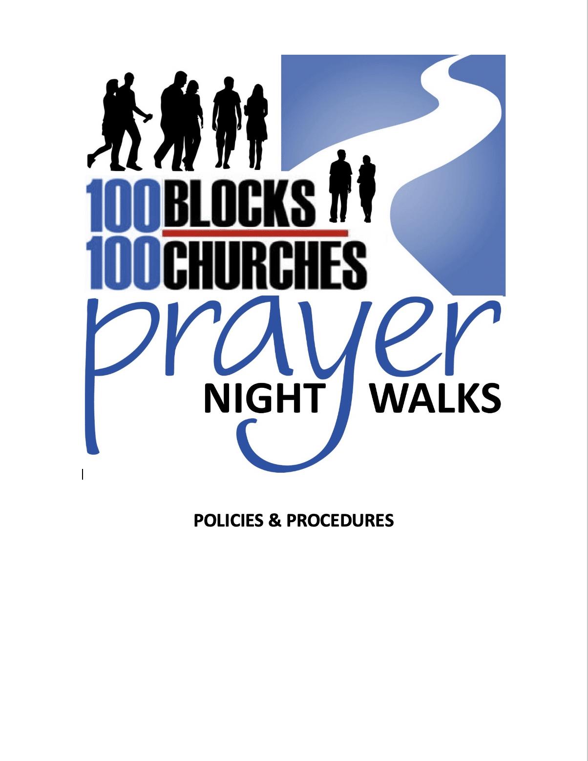 100 Blocks 100 Churches Night Walks Chicago training manual